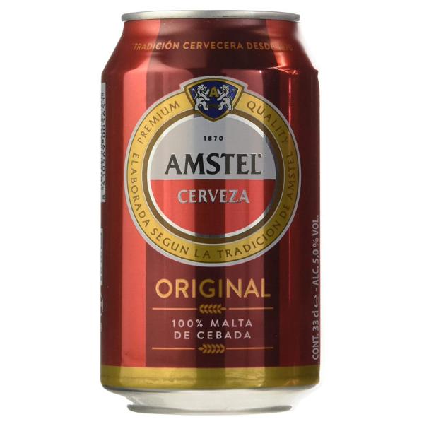Cerveza Amstel Lata 330 ml