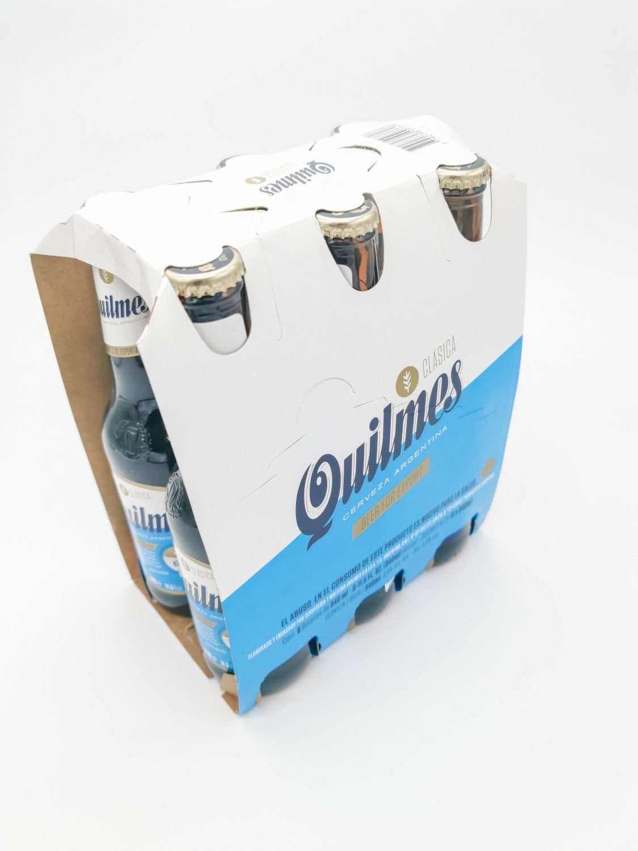 Cerveza Quilmes importada de Argentina pack de 6 botellas de 340 ml