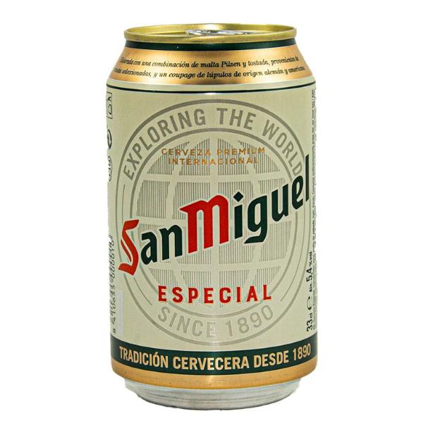Cerveza San Miguel Lata 330 ml