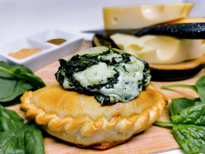 Empanada de Espinaca y queso La Caserita