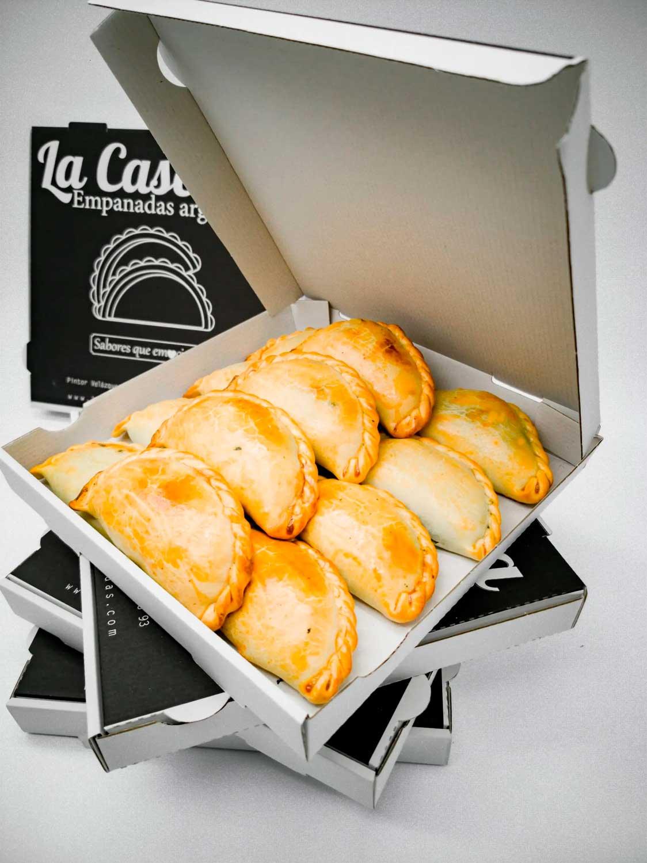 Pack de 36 empanadas clásicas La Caserita